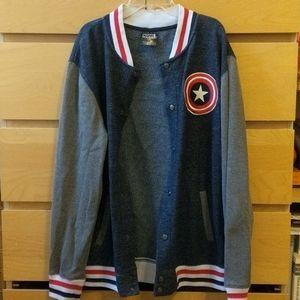 Marvel Captain America Varsity letterman sweater